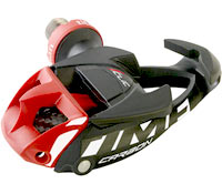 Road clipless pedals are usually one-sided.