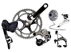You can always upgrade road bike components over time.