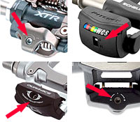 Most clipless pedals have tension adjustments to fine-tune the ease of entry/exit!