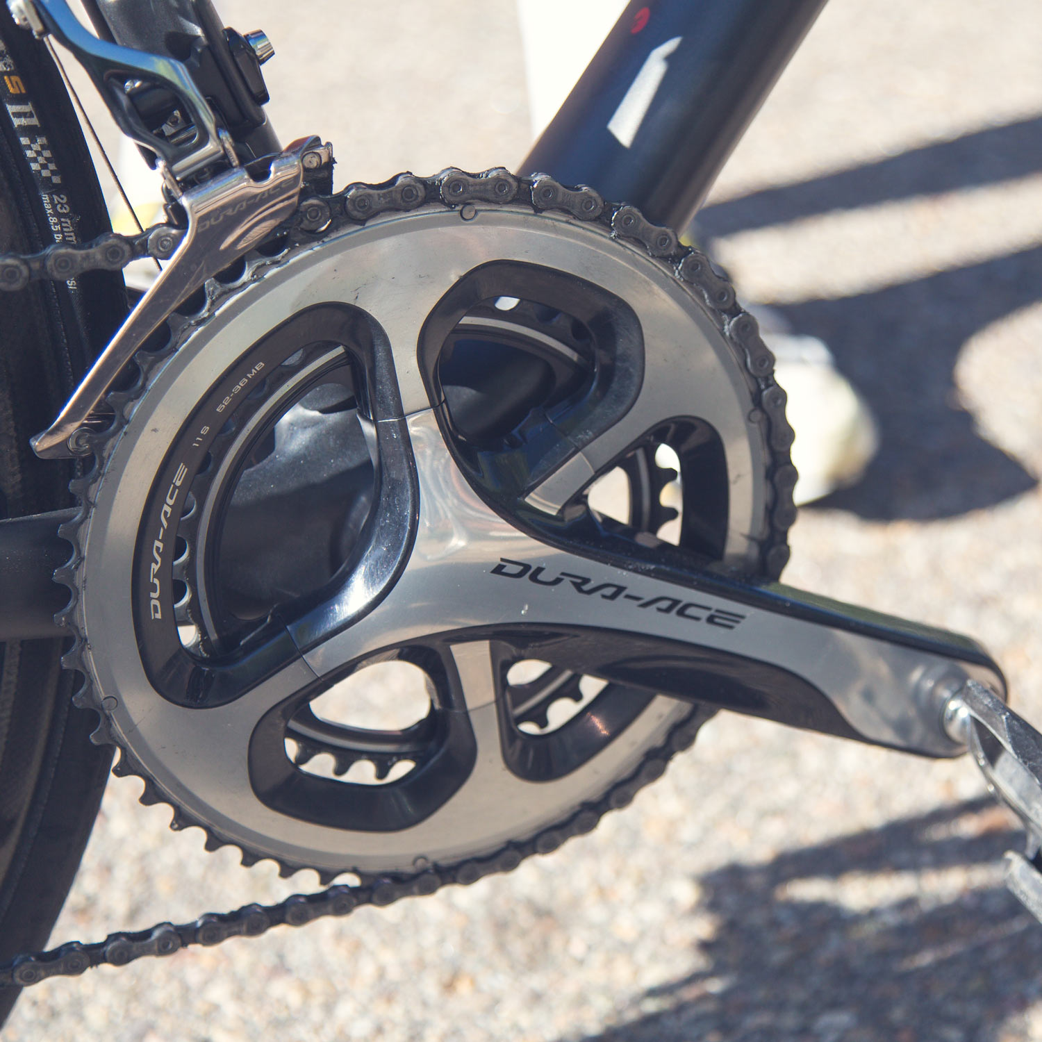 Road bike drivetrain