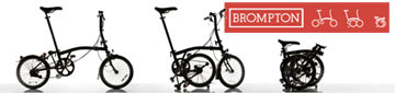 We proudly carry Brompton folding bicycles!
