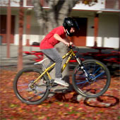 Kids gain confidence and improve their health when they bike!
