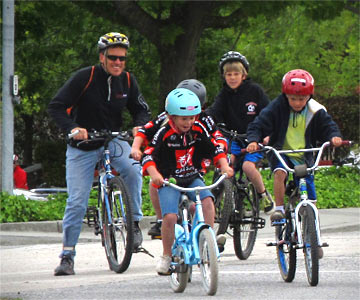 If you have any biking-to-school questions, just ask!