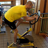 Indoor cycling bikes offer micro-adjustable resistance.