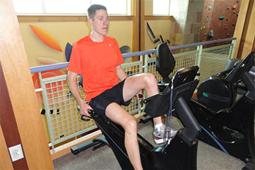 Exercise bikes require no learning curve and provide a quality aerobic workout!