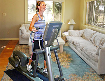 Our quality elliptical trainers allow you to benefit from a smooth, impact-free workout!
