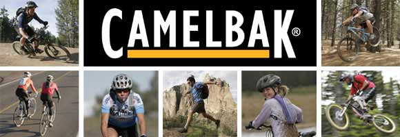 CamelBak keeps you hydrated!
