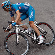 Pro cyclists trust Campy to take them to the top!