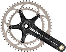 Carbon cranksets are super light and strong but take care of yours!