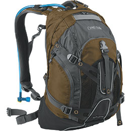 CamelBak's H.A.W.G. has a huge reservoir and tons of carrying capacity!