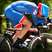 Cervelo's P5 is a wind-cheating aero rocket for triathlon and time trialing!