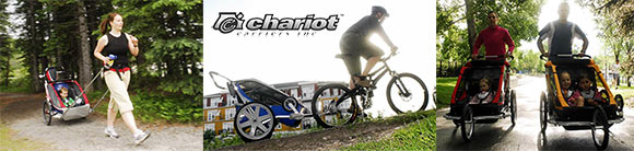 Enjoy more time doing your favorite things with Chariot Carriers!
