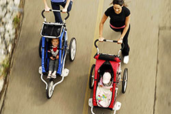 Take the kids everywhere with Chariot Carriers!