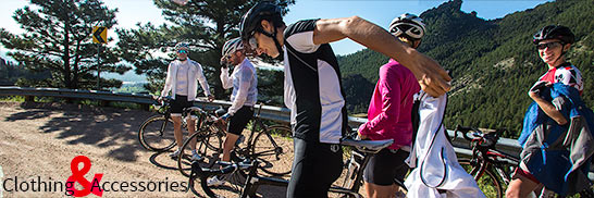 We have your cycling clothing and accessories covered!