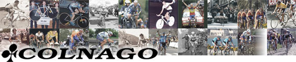 The Colnago name is famous for victories, history and quality!