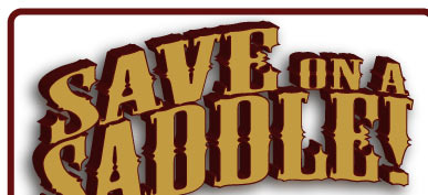 Save On a Saddle