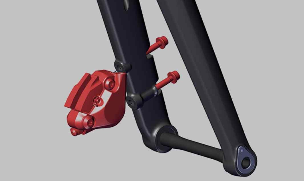 Direct Frontal Flat mount