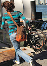 Dahon bicycles fold small so you can take them with you! Get yours at Cardinal Bike Shop today!
