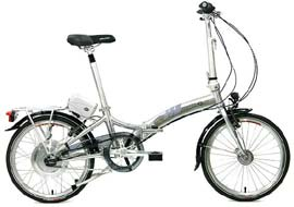 The Dahon Roo El offers royal riding convenience!