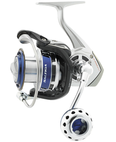 Daiwa's Saltiga spinning reel is Mag Sealed to keep saltwater out.