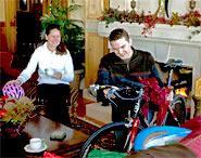 What bicycle surprises await?