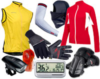 All cyclists love bicycle gear!