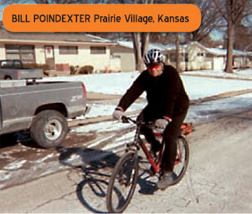 Bill Poindexter enjoys much better health thanks to cycling!