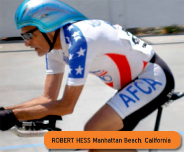 Robert Hess is a top racer after overcoming cancer!
