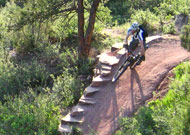 Easton makes excellent mountain bike components, too!