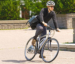 Commute to work the easy way and without even breaking a sweat!