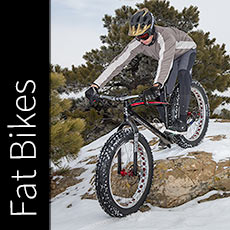 Crush it all winter on a fat bike!