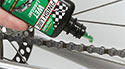 Keep your chain lubricated for a smooth ride.