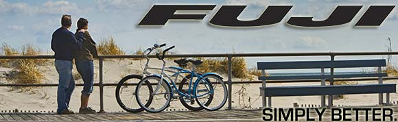 We have a wide selection of Fuji bicycles!