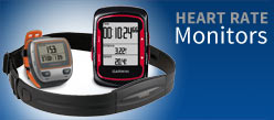 Garmin heart-rate monitors are an essential training tool.