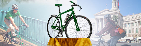 The Bicycle is a clean, green, perfect machine!