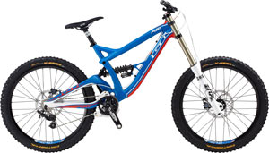 Click to enlarge the GT Fury Epert downhill bike.