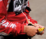 Hammer Nutrition energy bars are delicious!