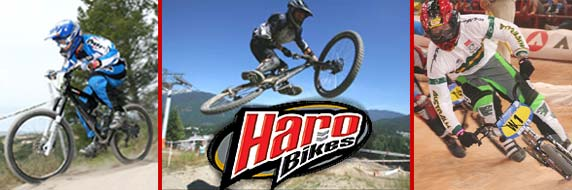 The best riders rely on Haro!