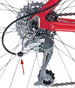 How To Adjust Your Rear Derailleur - Chainwheel Drive