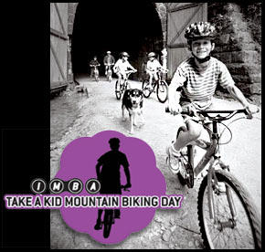 Kids + Mountain Bikes = Fun!