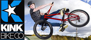 We've got a fine selection of Kink BMX bikes!