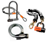 We carry a wide selection of Kryptonite bicycle locks!