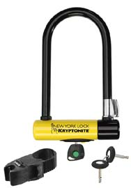 Kryptonite's New York Lock is made to survive the Big Apple's mean streets!