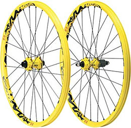 Mavic's Deemax Wheelset is extremely strong!