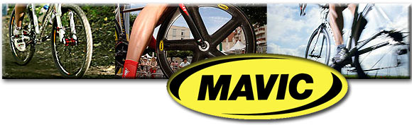 Mavic wheels are built for speed!