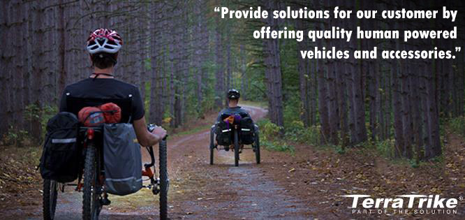 Terra Trike, providing solutions for our customers