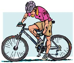 Avoid grease tattoos on your body, clothes and car by not over lubing your drivetrain!
