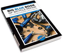 Learn how to fix your own bicycle with Park's Big Blue Book Of Bicycle Repair!