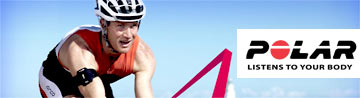 Get a Polar heart-rate monitor and get more out of your cycling, training and workouts!