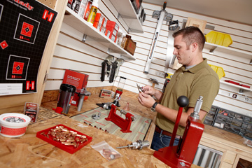 Reloading saves money and keeps you supplied with ammo.